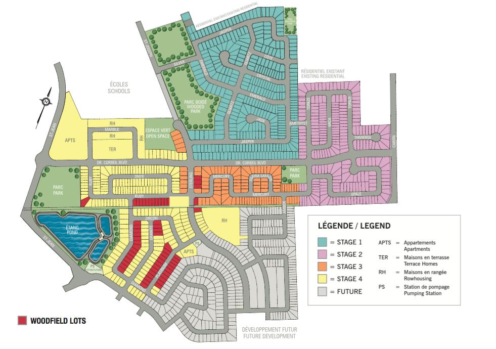 Morris Village Site Map